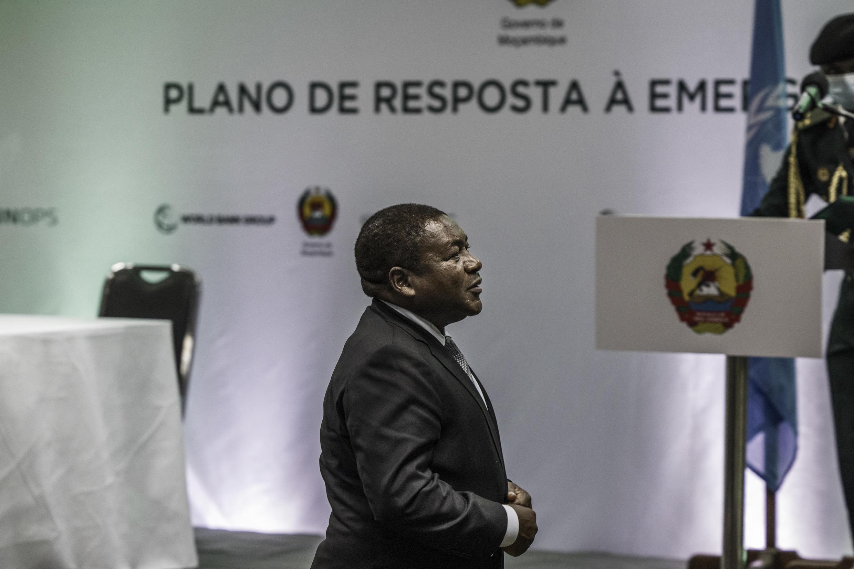 Presidente moçambicano Filipe Nyusi