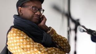 Portrait de l'écrivain Abdourahman Waberi.