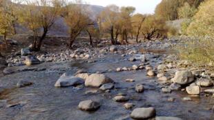 رودخانه زردبند در شهرستان شمیرانات