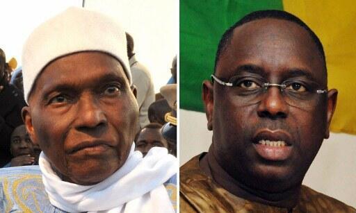 Abdoulaye Wade da Macky Sall 'Yan Takarar Shugaban kasar Senegal