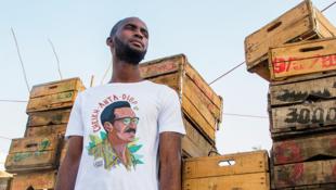 Le T-shirt à l'effigie de Cheikh Anta Diop de United Souls.