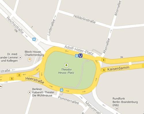 Ошибка на карте Берлина Google maps 10/01/2014