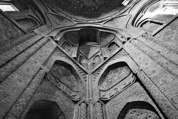سه کنج گنبد نظام الملک، مسجد جامع اصفهان