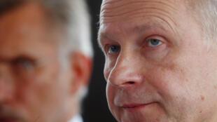 Ilmars Rimsevics, le gouverneur de la Banque centrale de Lettonie, le 20 février 2018.