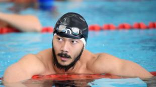 缅甸游泳远动员Win Htet Oo资料图片