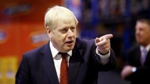O primeiro-ministro britânico, Boris Johnson.