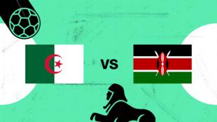 Algérie-Kenya, affiche de la première journée de la CAN 2019.
