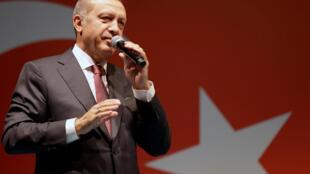 Le président turc Recep Tayyip Erdoğan à Istanbul, le 19/07/2016.