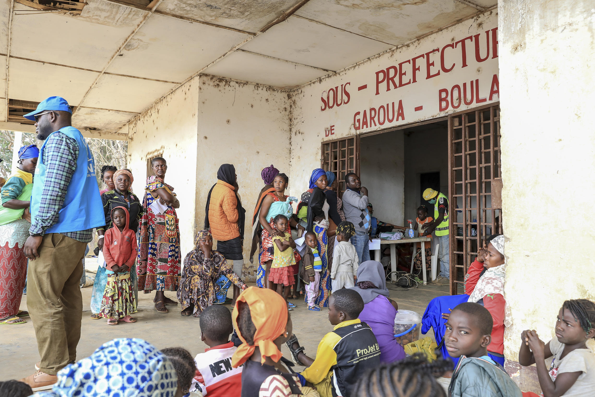 Cameroon is one of the countries sheltering refugees from the Central African Republic