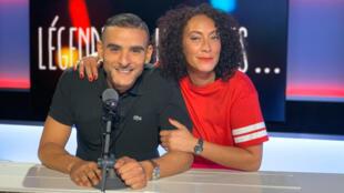 Sofiane alias Fianso et Juliette Fievet.