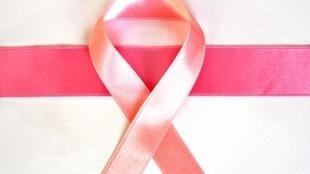 Le ruban rose, symbole de la lutte contre le cancer du projet «Octobre rose».