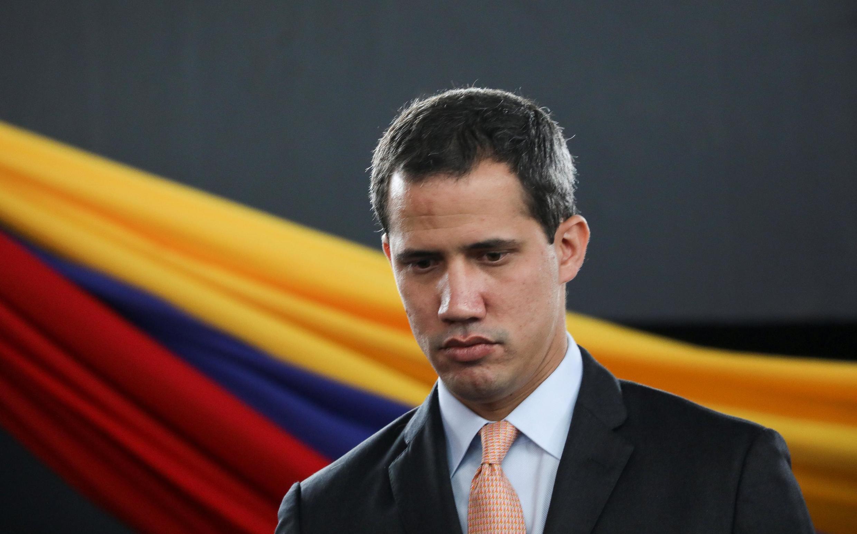 Juan Guaido, que de nombreux pays ont reconnu comme le chef intérimaire légitime du pays, à l'Assemblée nationale à Caracas, le 15 janvier 2020.