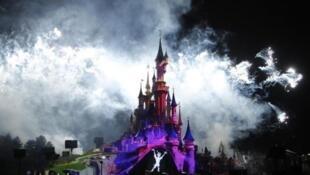 Première d'un spectacle lancé pour le 20eme anniversaire du parc d'attractions de Disney à Marne-la-Vallée (Mars 2012).
