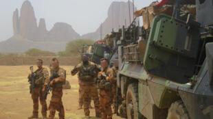 Mise en place de l'opération fin mars, dans la région d'Hombori.