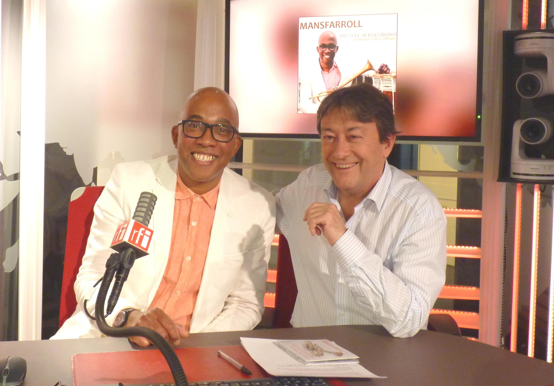 Abraham Mansfarroll y Jordi  Batallé en RFI
