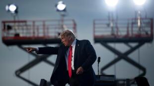 Donald Trump en Ocala, Florida, el 16 de octubre de 2020