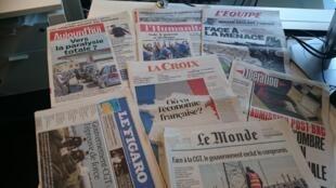 Diários franceses 25.05.2016