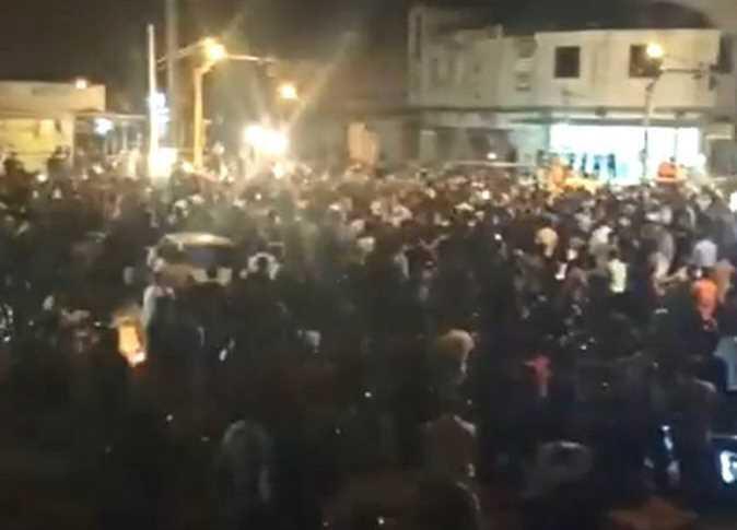 تظاهرات در خوزستان [تصویر برگرفته از توئیتر]