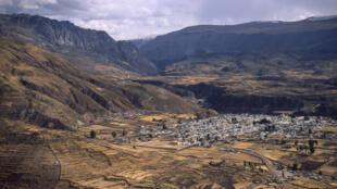 La région d'Arequipa, au Pérou.