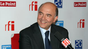Pierre Moscovici, France's finance minister, at RFI on Tuesday