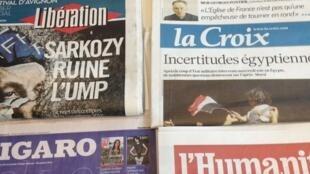 Primeiras páginas diários franceses 5/7/2013