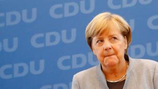 Angela Merkel Shugabar gwamnatin Jamus
