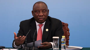 Cyril Ramaphosa, Presidente da África do Sul.