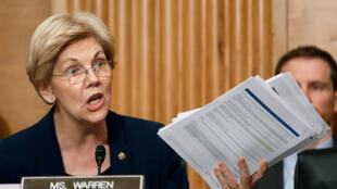 La sénatrice démocrate du Massachusetts, Elizabeth Warren, le 20 septembre 2016.
