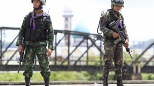 Bangkok tăng cường an ninh ở miền Nam Thái Lan