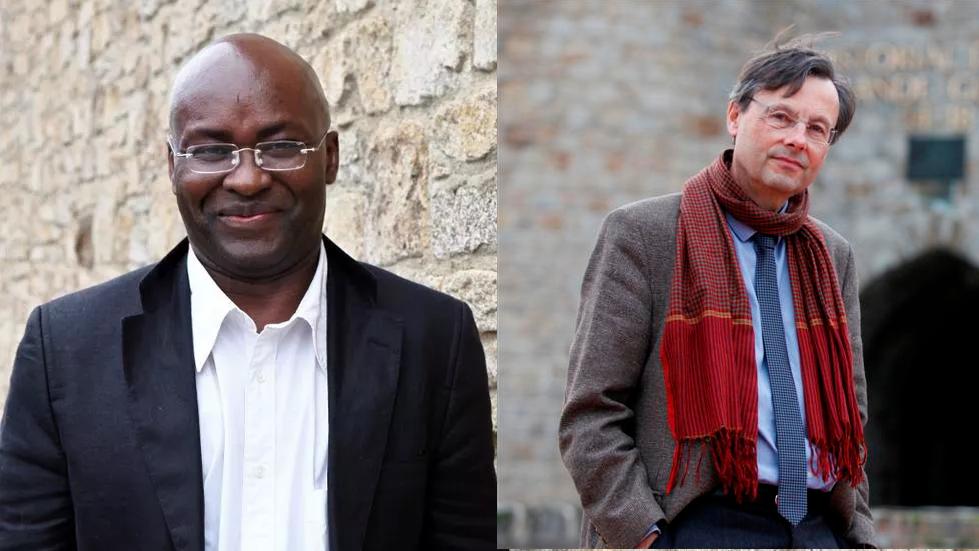 Achille Mbembe et Stéphane Audoin-Rouzeau sont les invités de La marche du monde. (Montage photo)