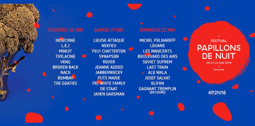 L'affiche de la 16e édition du festival.