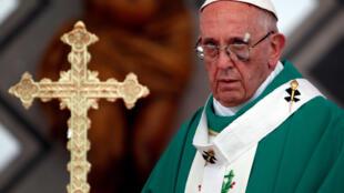 教皇方济各9月10日在西班牙的卡塔赫纳