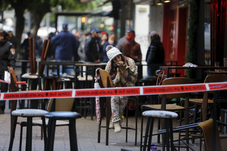 以色列特拉维夫这座小酒馆前1日发生枪击两人丧生