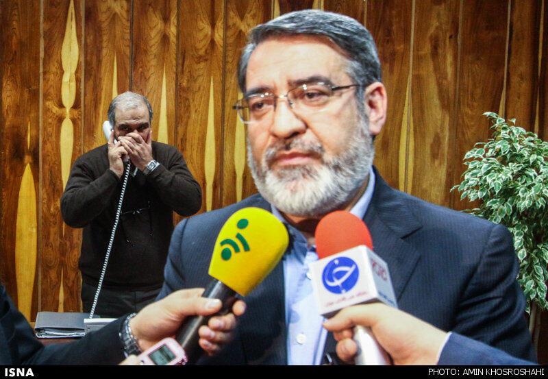 عبدالرضا رحمانی فضلی، وزیر کشور دولت یازدهم