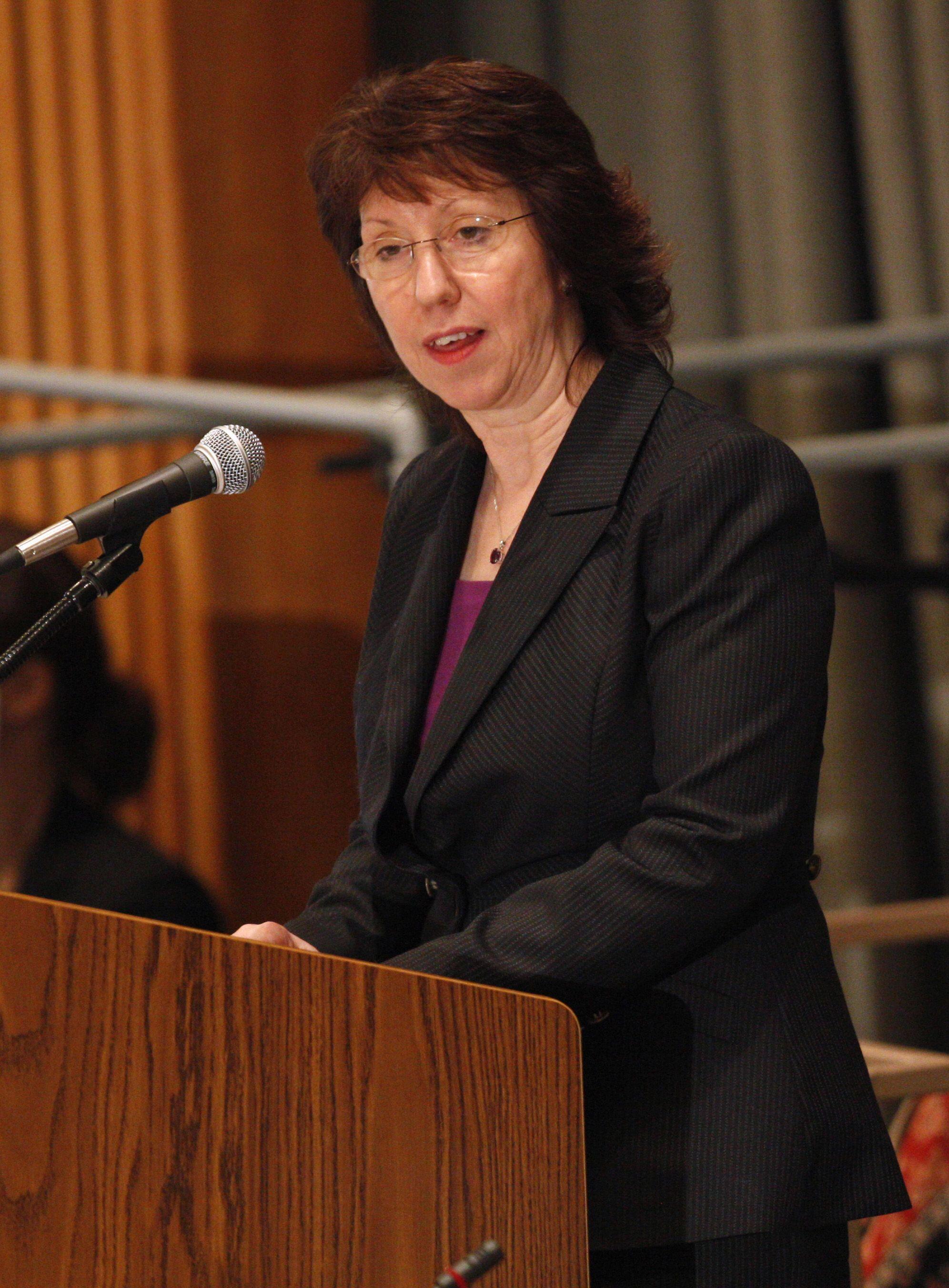 Catherine Ashton babbar jami'ar harkokin wajen Tarayyar Turai