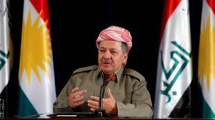Shugaban yankin Kurdistan na Iraki, Massoud Barzani.