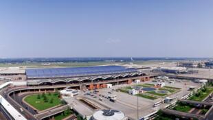 北京国际机场二号航站楼全景