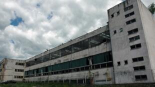 Les ruines de l'Usine Aro, fermée en 2003, après 46 ans d'activité.