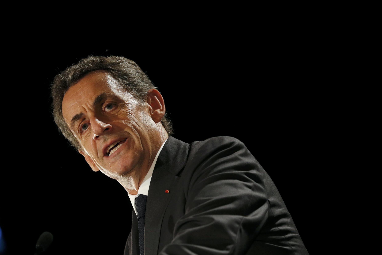 Nicolas Sarkozy . 19 de Setembro de 2016.