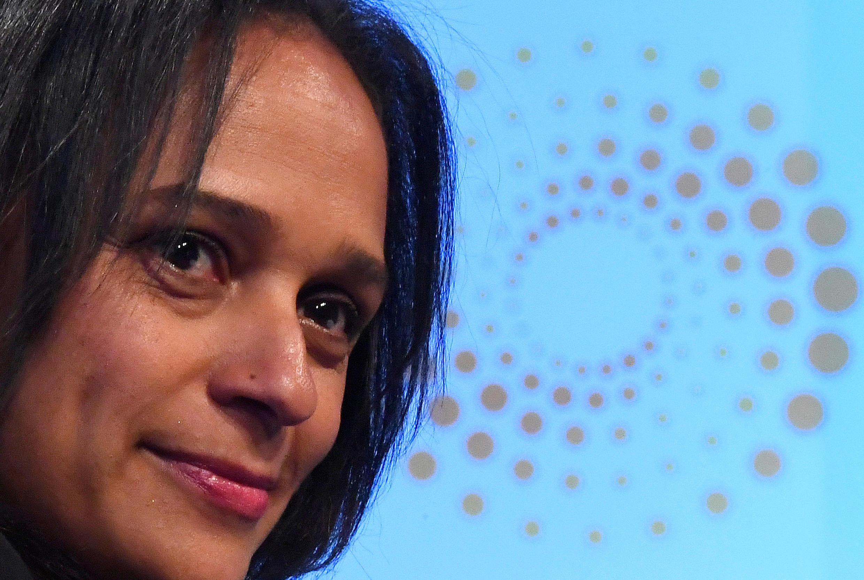 Isabel dos Santos, empresária angolana, filha do presidente do MPLA e ex PCA da Sonangol.