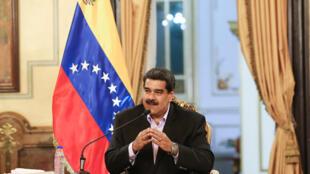 Shugaban Venezuela Nicolas Maduro.