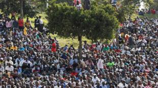 Précédente manifestation de l'opposition kényane, le 1er juin 2016, à Nairobi.