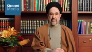 محمد خاتمی در حمایت حسن روحانی در انتخابات ریاست جمهوری یک پیام ویدئویی منتشر کرد