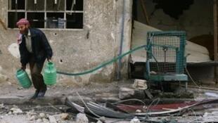ONU pede aplicação imediata de cessar-fogo em Ghouta Oriental.