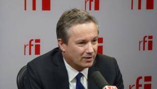 Nicolas Dupont-Aignan, candidat de Debout La République à l'élection présidentielle 2012.