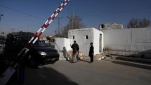 Trung tâm đào tạo cảnh sát Quetta-Pakistan sau vụ tấn công đẫm máu trong đêm 24/10/2016.