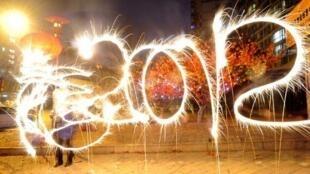 La Chine entre dans l'année du dragon, ce 23 janvier 2012.