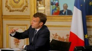 В МИД Франции сообщили о расследовании в связи с утечкой разговора Макрона и Путина
