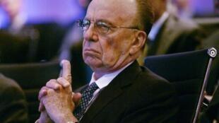Le tycoon des médias, Rupert Murdoch.