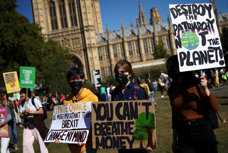 В ожидании лондонского марша за климат, 20 сентября 2019